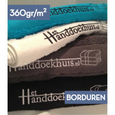 Handdoek 50 x 100cm (360gr/m2) Budget incl. borduren logo