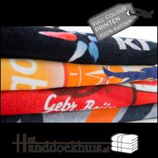 Handdoek 50 x 100cm HH 100% katoen met reactive print