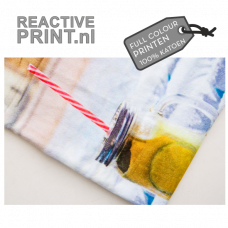 Sporthanddoek 30 x 130cm HH 100% katoen met reactive print