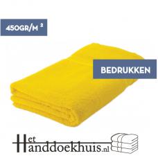 Strandlaken (450 gr/m2) 100 x 180cm incl. opdruk