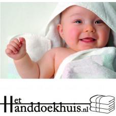 Baby handdoek 75x75 (450gr/m2) incl. borduring